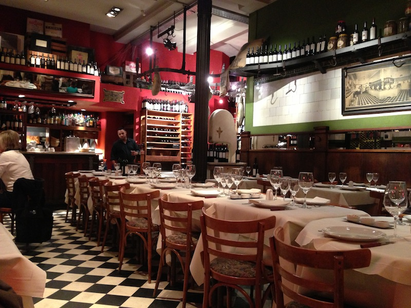The restuarant for my last supper in Buenos Aires - Kapcha The World